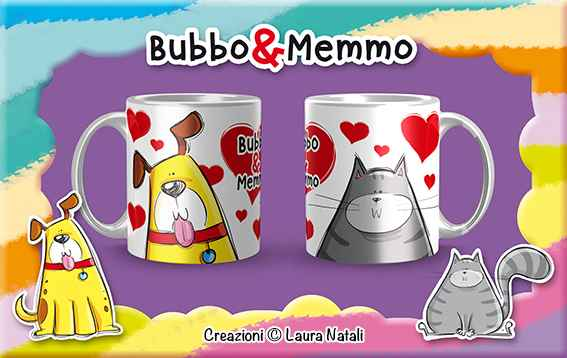 Tazza Bubbo & Memmo Love