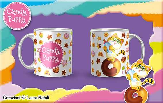 Candy Puppy_Tazza Tigrotto