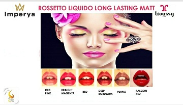 Rossetto Liquido Long lasting matt